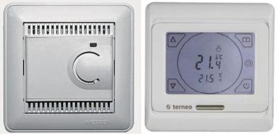 Непрогремируемый и програмируемый терморегулятор