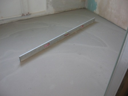 How to give laminate to concrete concrete video