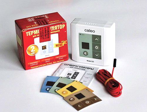 Как выбрать терморегулятор (термостат) для теплого пола и как его установить?