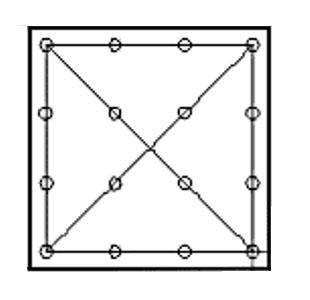 Схема крепежа фанеры