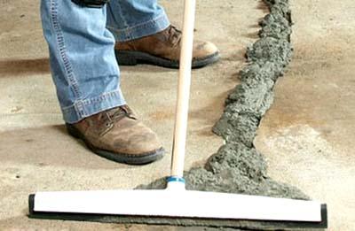 Ремонт швов бетонного пола