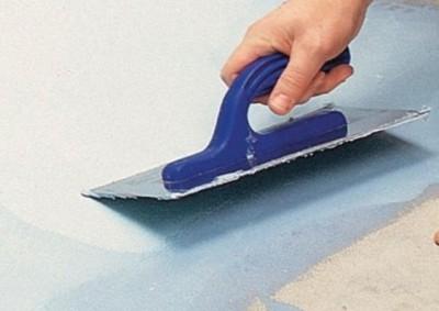 Выравнивающий слой гарантирует формирование ровной поверхности