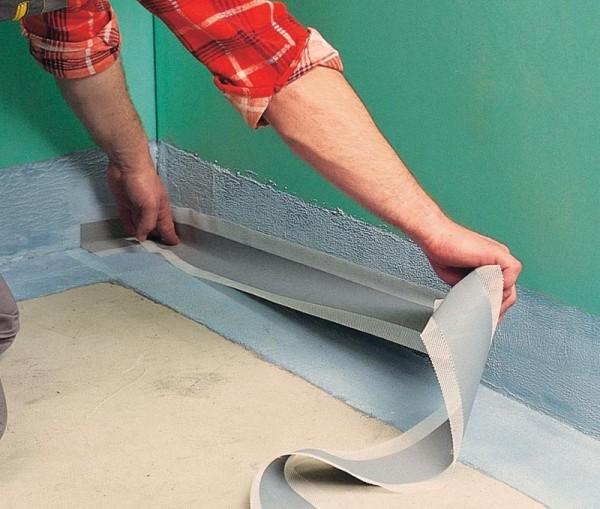 Гидроизоляция пола в ванной комнате: все про изоляционные материалы и способы устройства
