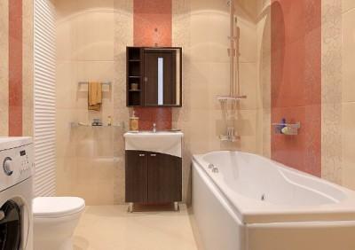 Кафель - разумный и рациональный вариант для облицовки ванной