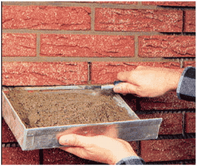 How to place the front tile