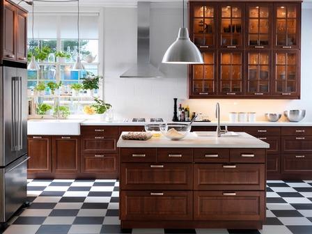 Как положить плитку на кухне: разбор 6-ти популярных схем раскладок