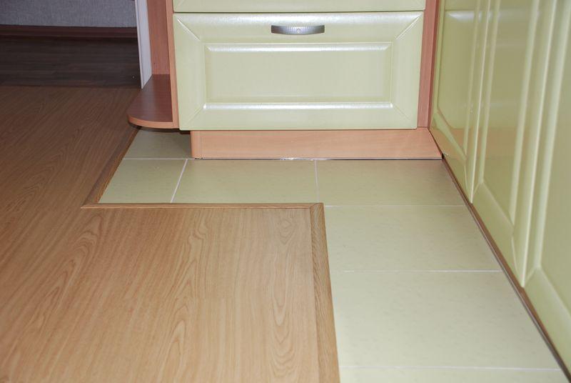 Как сделать пол в кухне фото