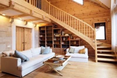 Техническая система теплый пол в деревянном доме позволяет полностью использовать полезное пространство