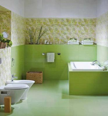 Укладка бесшовной плитки - отличное решение для ванной