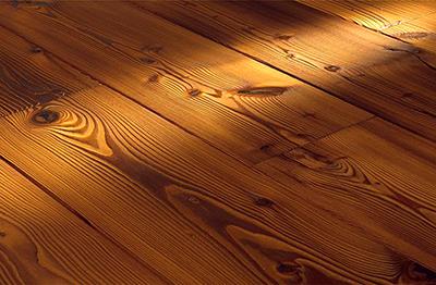 Деревянный пол из массива