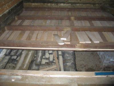 Черновой пол в усройстве пола в деревянном доме