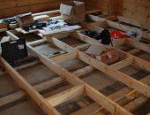 Полы в деревянном доме - конструкция, укладка, замена