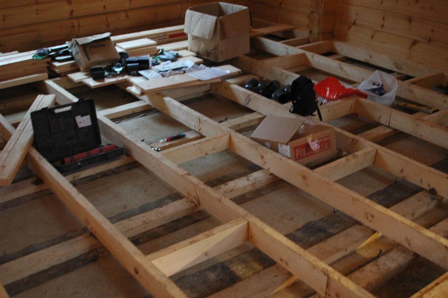 Полы в деревянном доме: какое основание лучше + устройство деревянного пола на балках