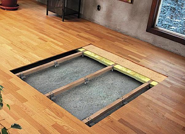 Устройство деревянного пола: обзор 6-ти разных способов сделать деревянный пол