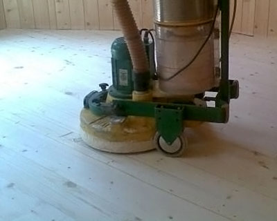 Циклевание деревянного пола