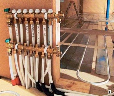 Как сделать теплые полы под деревянным полом 110