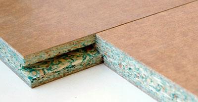 Теплоизоляция пола древесно-стружечными плитами
