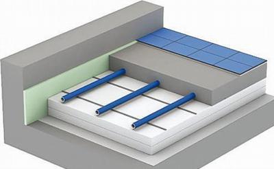 Схема устройства водяного теплого ...