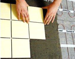 Как выбрать плиточный клей для теплого пола + разбор нюансов технологии его нанесения
