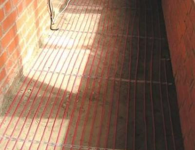 Кабельная система утепления балкона