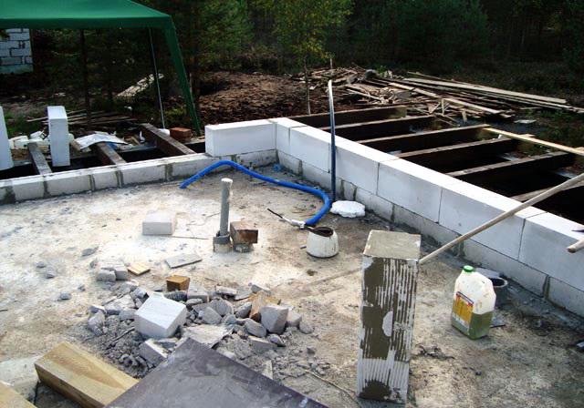 Делаем полы по грунту: порядок строительства деревянного и бетонного оснований