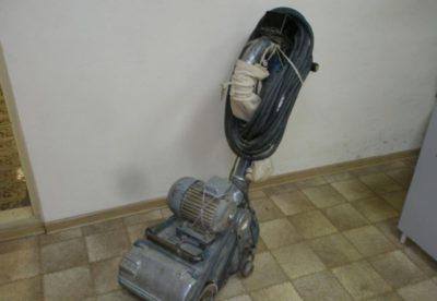 Паркетошлифовальная машина