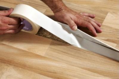 Клейкая лента для отделочных материалов