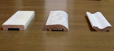 Деревянный плинтус своими руками изготовление