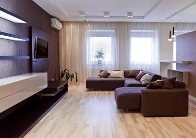 Линолеум в гостиной