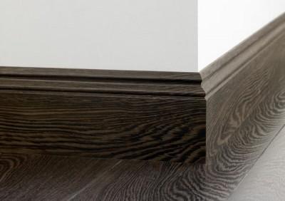 Плинтус напольный деревянный широкий - экологичность и надежность
