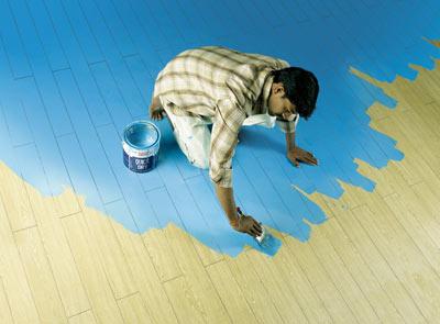 Покраска пола: особенности работы с деревянным, бетонным и дсп основаниями