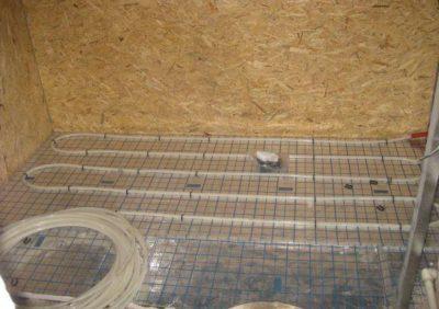 Теплый пол под стяжку - обязательное выполение теплоизоляционного слоя