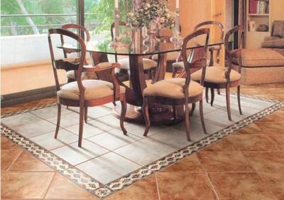 Плитка, выложенная ковром