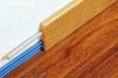 Деревянный плинтус - евростандарт