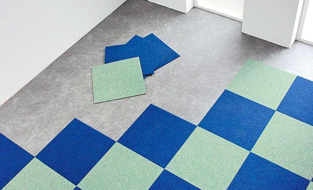 Чем хороша ковровая плитка и как правильно производится ее укладка