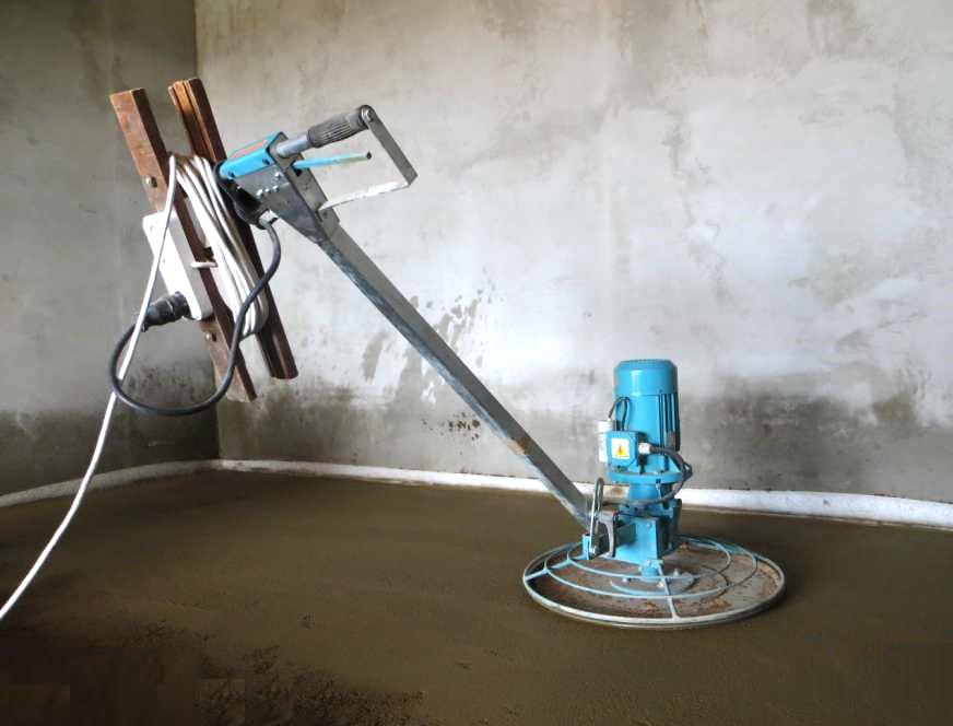 Шлифовка бетонного пола своими руками: оборудование и инструкция по выполнению