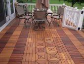 Садовый паркет-декинг считается одним из лучших материалов для напольного покрытия уличных террас и открытых балконов