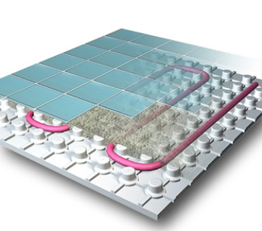 Наглядная модель системы водяной теплый пол