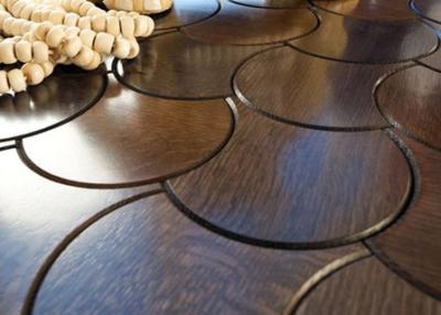 Деревянная плитка - способ создания необычной фактуры пола