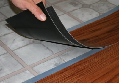 Гибкий ламинат с клеевой smart-лентой