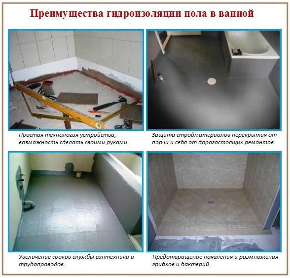 Гидроизоляция ванной комнаты деревянных полов мастика герметизирующая липкая мг-14