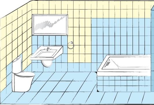 Гидроизоляция ванной комнаты: оптимальные способы и схемы устройства