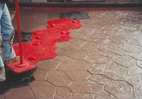 Разбор технологии создания печатного (штампованного) бетона