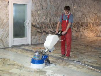 Шлифовка и полировка каменных полов: учимся работать с гранитом и мрамором