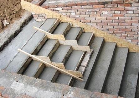 Монолитная бетонная лестница своими руками: разбор этапов строительства по шагам