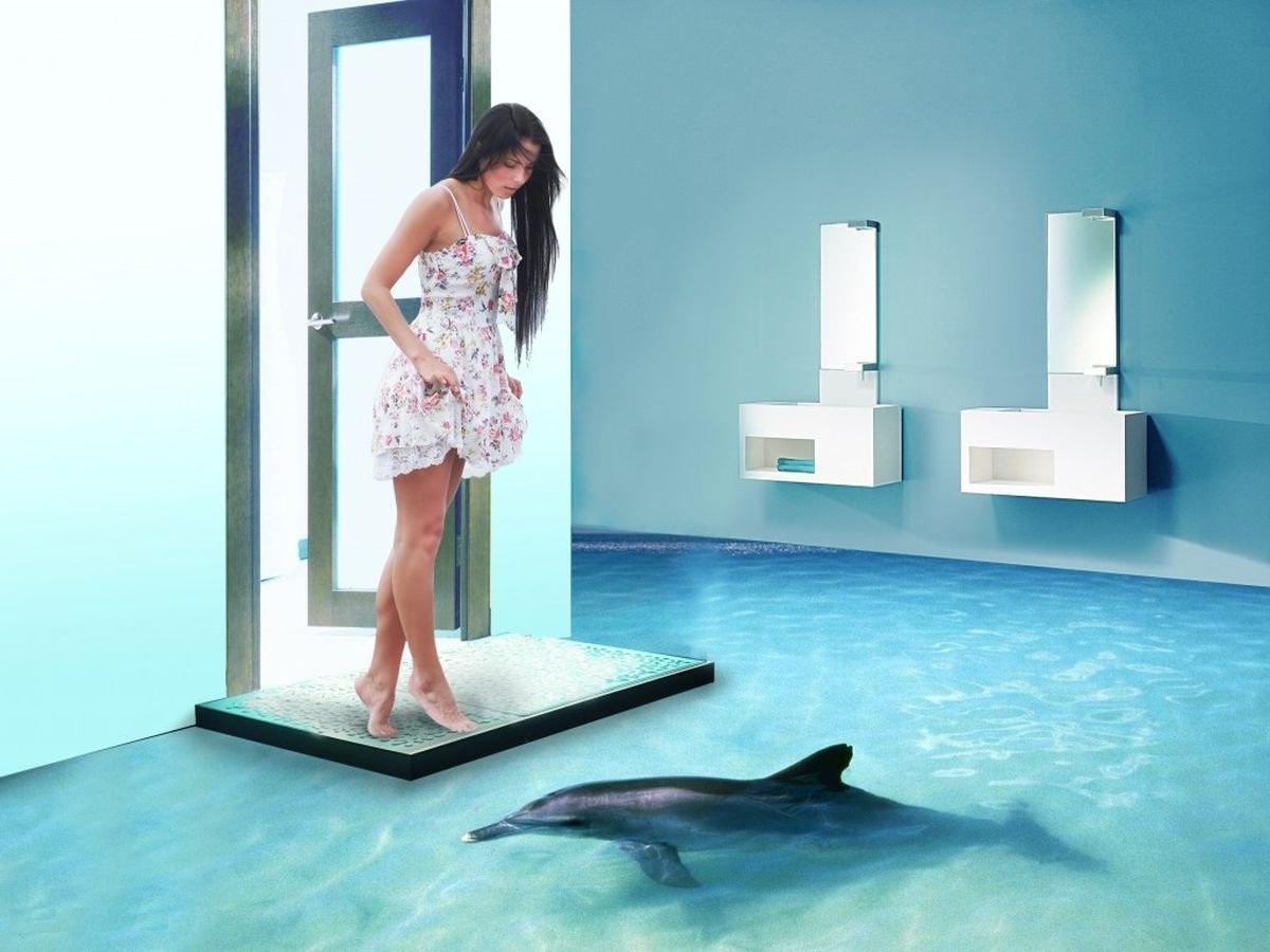 Можно ли на инфракрасный тёплый пол ставить наливной 3D-пол