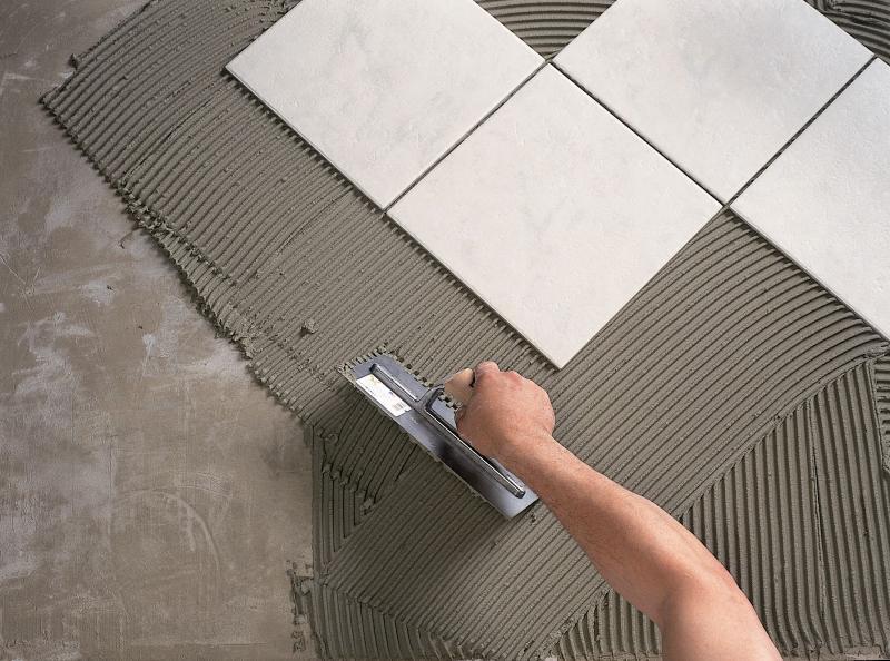 Как уложить плитку на пол при наличии перепадов по высоте