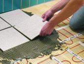Укладка плитки поверх теплого пола