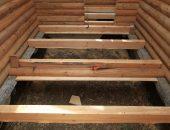 Монтаж утеплённого пола в деревянном доме