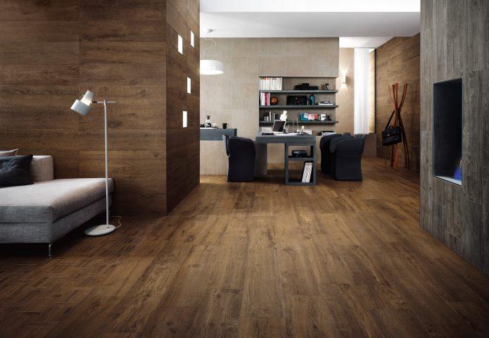 Сочетание ламината со стилем комнаты